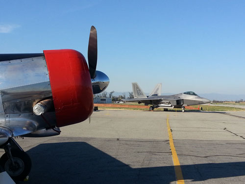 p-47 and raptor