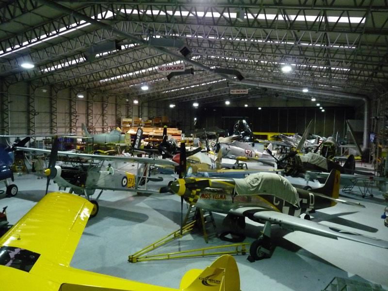 Hangar2 Duxford xmas 2014